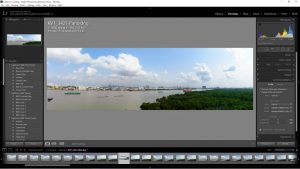 lightroom panorama